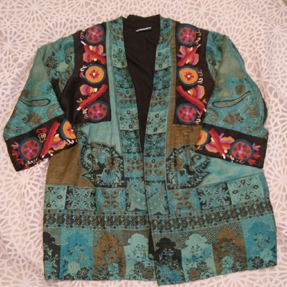 Soft Surroundings Jackets & Blazers - Indian inspired jacket